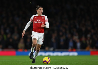 Hector Bellerin of Arsenal - Arsenal v Huddersfield Town, Premier League, Emirates Stadium, London (Holloway) - 8th December 2018