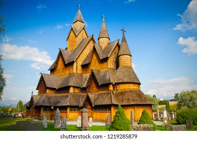 Heddal stave church is a stave church located at Heddal in Notodden, Norway