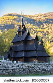 Heddal stave church, Notodden, Norway, Scandinavia, the largest stave church in Norway