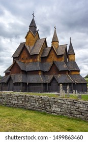 Heddal Stavkirke is a stave church located at Heddal in Notodden municipality, Norway. This building is a triple nave stave church and is Norway's largest.