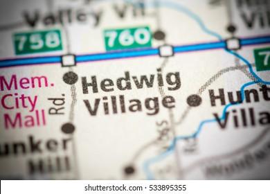 Hedwig Village. Texas. USA