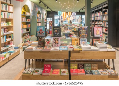 "HEEMSTEDE-MAY 16 2020. Bookstore ""Blokker"" has been around for over 60 years. In a time that most bookstores fall victim to competition from the internet, they doubled the size of their store."