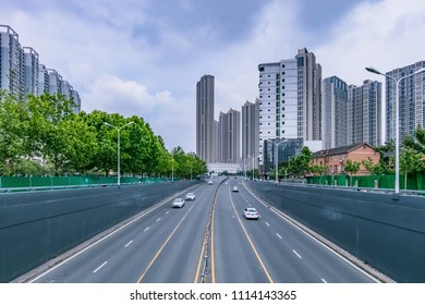 Hefei City, Anhui Province high-rise building landscape