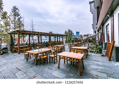 Hefei City, Anhui Province open-air recreation sites architectural landscape