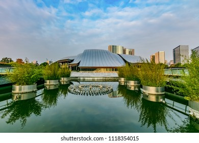 Hefei City, Anhui Province Theatre Architectural Landscape