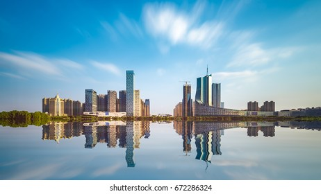 Hefei Swan Lake government district