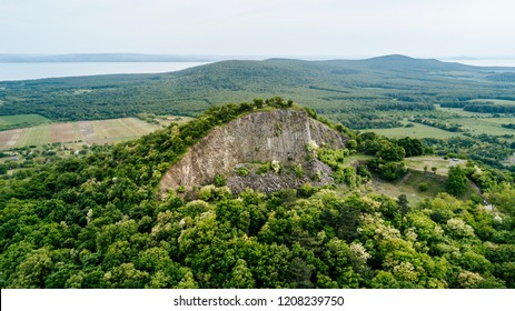 Hegyestu hill near lake Balaton in Kali Basin of the Balaton Highlands, Hungary