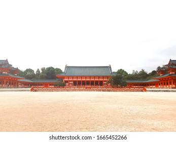 heianjingu, a temple of Heian period.