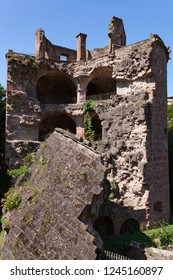Heidelberg caste in Germany at summer day