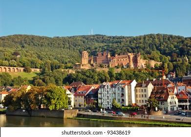 Heidelberg Castle and City