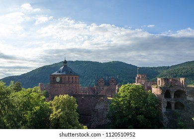 Heidelberg castle in the sun
