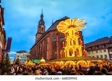 Heidelberg, Christmas Market