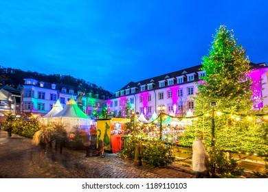 Heidelberg, Christmas Market, Germany