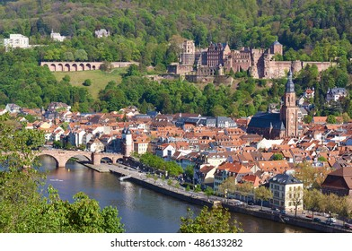 Heidelberg city and castle