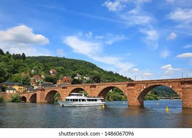 Heidelberg is a city on the Neckar in Germany, Alte Brücke
