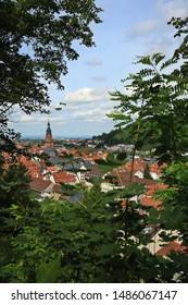 Heidelberg is a city on the Neckar in Germany, Heidelberg