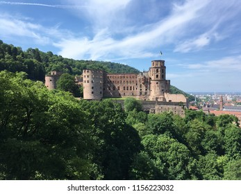 Heidelberg City view and castle
