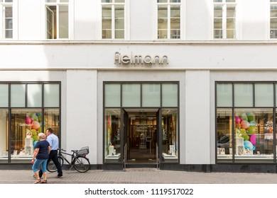 Heidelberg, Germany - April 10 2018: A Fielmann outlet. It is a German retail optics company.