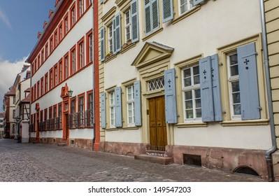 Heidelberg old city streets