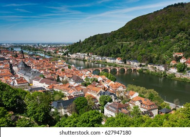 Heidelberg is an old town on the Neckar River in southwestern Germany, a popular destination for University students and for European heritage lovers