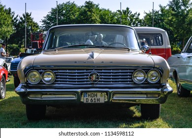 Heidenheim, Germany - July 8, 2018: 1961 Buick Electra at the 2. Oldtimer day in Heidenheim an der Brenz, Germany.