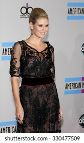 Heidi Klum at the 2010 American Music Awards held at Nokia Theatre L.A. Live in Los Angeles, USA on November 21, 2010.