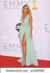 Heidi Klum at the 64th Primetime Emmy Awards at the Nokia Theatre LA Live. September 23, 2012  Los Angeles, CA Picture: Paul Smith