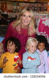 """Heidi Klum at her """"Truly Scrumptious"""" Collection Launch, Babies """"R"""" Us,  Calabasas, CA 09-14-12"""