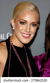 Heidi Montag at the 4th Annual Pink Party held at the Hangar 8 in Santa Monica on September 13, 2008.
