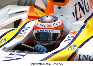 Heikki Kovalainen, Renault F1 2007 driving