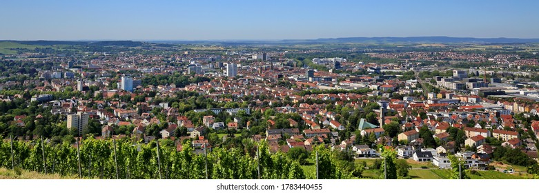 Heilbronn von oben is a sight of the city of Heilbronn