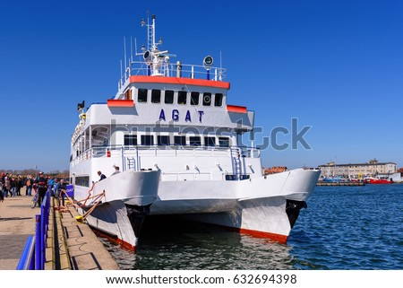 hel poland may 1 2017 cruise stock photo edit now 632694398