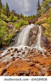 Helen Hunt Falls near Colorado Springs Colorado