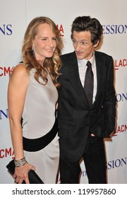 """Helen Hunt & John Hawkes at the premiere of their movie """"The Sessions"""" at the LA County Museum of Art. October 10, 2012  Los Angeles, CA Picture: Paul Smith"""