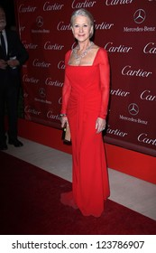 Helen Mirren at the 2013 Palm Springs International Film Festival Gala, Palm Springs Convention Center, Palm Springs, CA 01-05-13