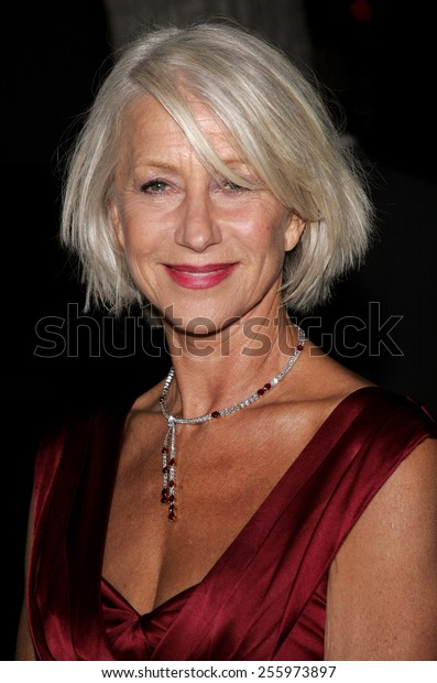 """Helen Mirren attends """"The Queen"""" Los Angeles Premiere held at the Academy of Motion Picture Arts and Sciences in Beverly Hills, California on October 3, 2006."""