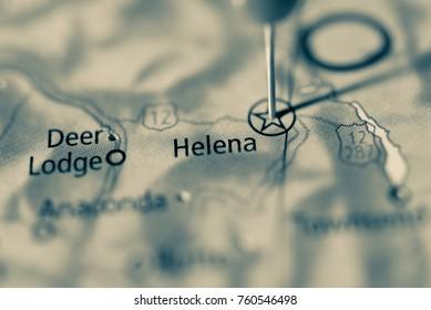 Helena, Montana, USA.