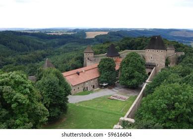 Helfstyn, gothic castle in Czech Republic