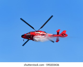 Helicopter for fire fighting