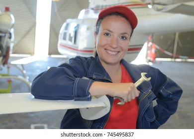 helicopter maintenance worker
