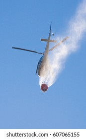 Helicopter rescue for fires,Italy