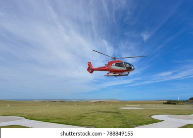 Helicopter (taking off/landing)