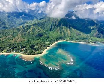 Helicopter tour in Kauai, Hawaii,