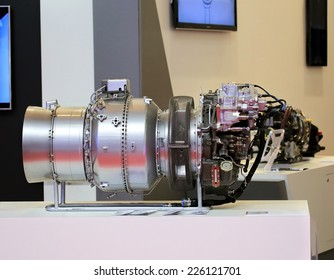 Helicopter turbine provides horizontal movement of the aircraft
