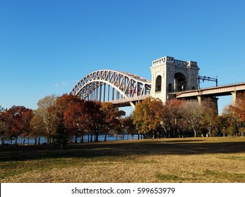 Hell Gate Bridge in Astoria Park, Queens