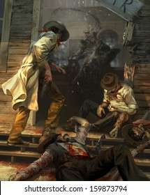 The hell saloon