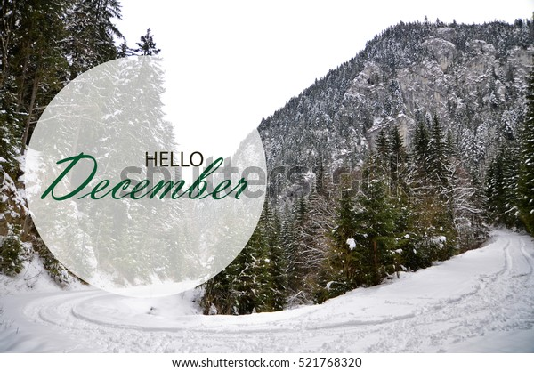 december wallpaper winter landscape