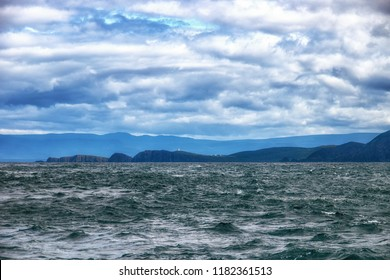 Hells gate is the notorious entrance to Macquarie Harbour located on the west coast of Tasmania