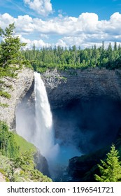 Helmcken Falls in Wells Gray Provincial Park near Clearwater, British Columbia, Canada