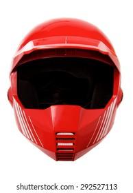 Helmet on White Background